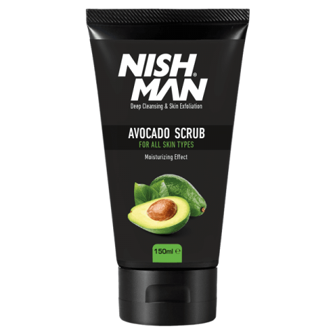 Скраб для лица NISHMAN FACE&SKIN SCRUB AVOCADO 150 ML
