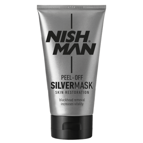 Очищающая маска для лица NISHMAN SILVER PEEL OFF MASK 150 ML